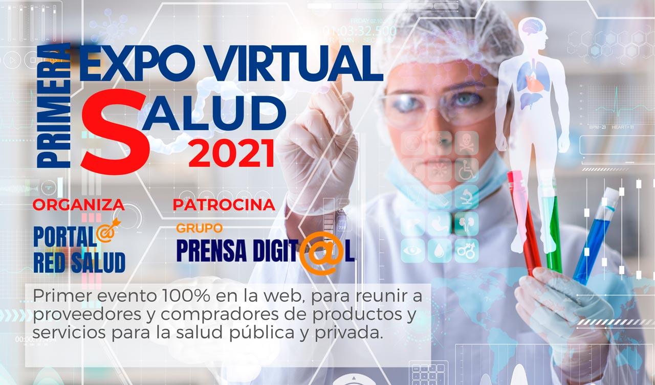 Expo Virtual Salud 2021 - feria evento online